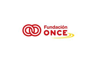 Logo de la Fundación ONCE para la Cooperación e Inclusión Social de Personas con Discapacidad de España.