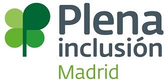 Logo de Plena Inclusión Madrid, Federación de Organizaciones de personas con discapacidad intelectual o del desarrollo de Madrid.