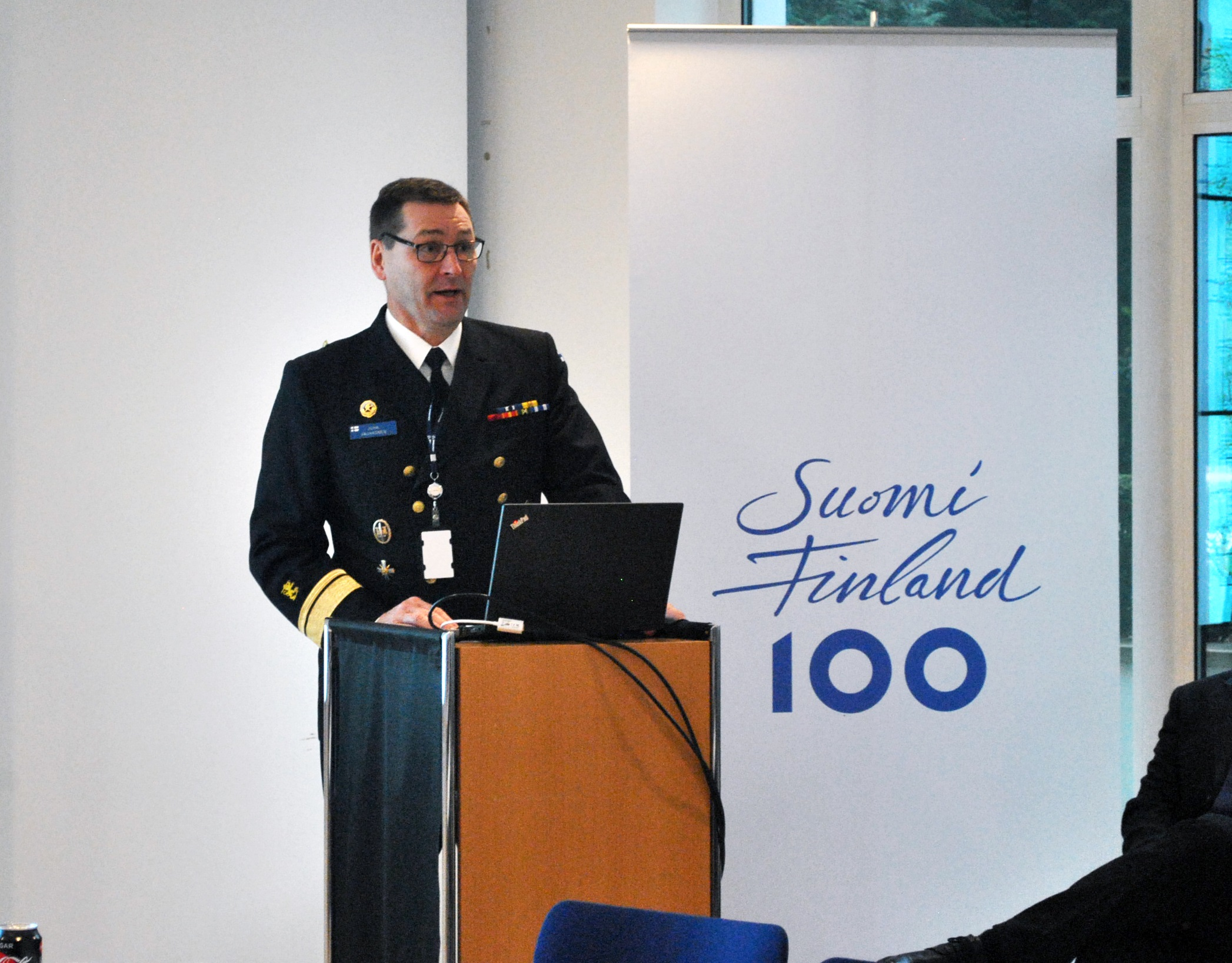 RADM Juha Vauhkonen; Military Representative of Finland to the European Union and NATO